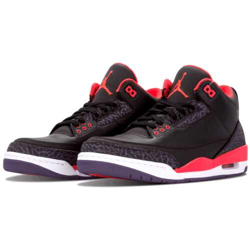 "Air Jordan 3 Retro ""Crimson"""