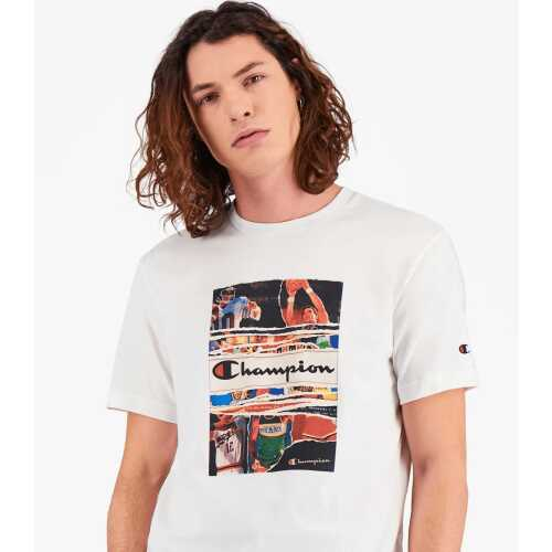 Men's Champion Vintage Print T-Shirt