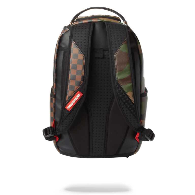 Sprayground Check & Camouflague Backpack