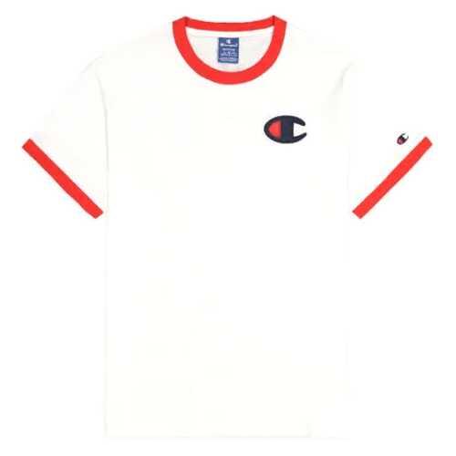 Men's Champion C Logo Ringer T-Shirt