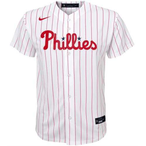 Youth Home Jersey Baseball Nike White Home Replica Philadelphia Phillies