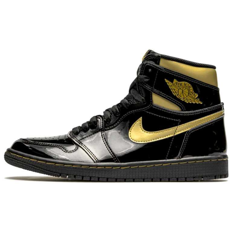 "Air Jordan 1 Hight OG ""Metallic Gold"""