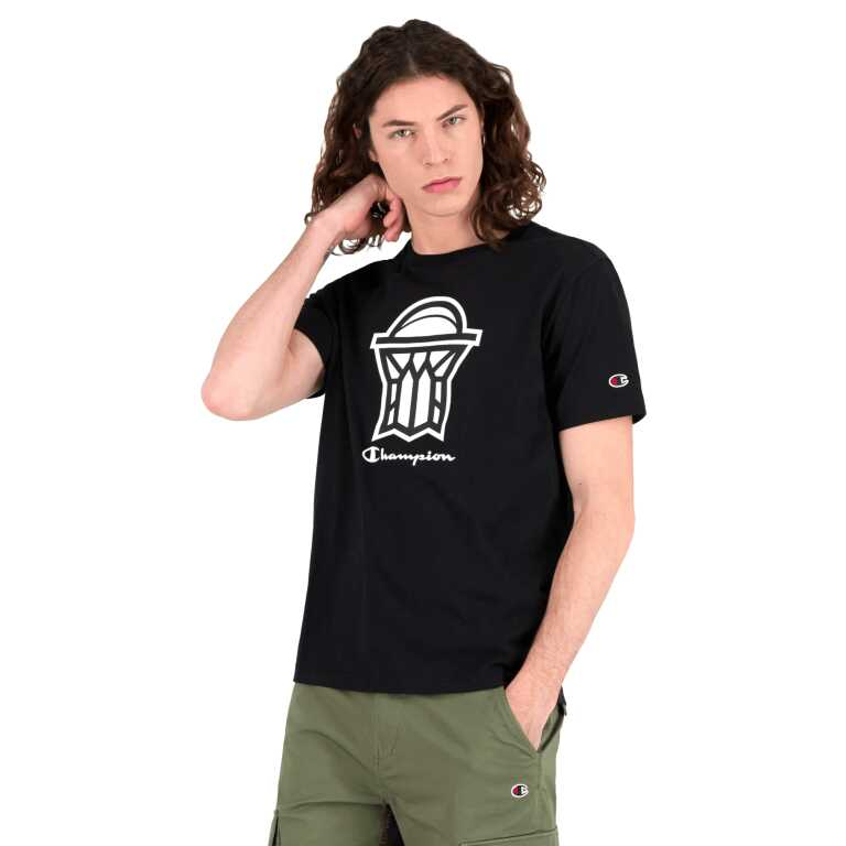 Men's Champion NBA2K League Nets Crew Neck T-Shirt