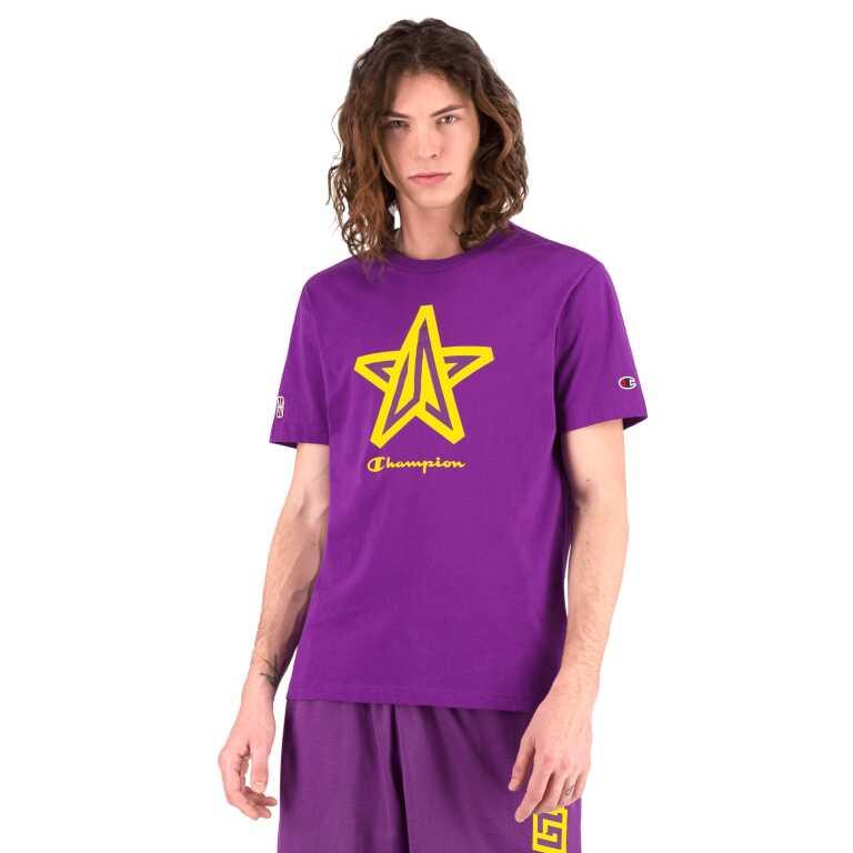 Men's Champion NBA2K League LAKERS Crew Neck T-Shirt