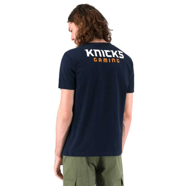 Men's Champion NBA2K League KNICKS Crew Neck T-Shirt